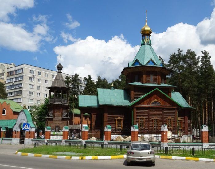 Церковь Матроны Московской