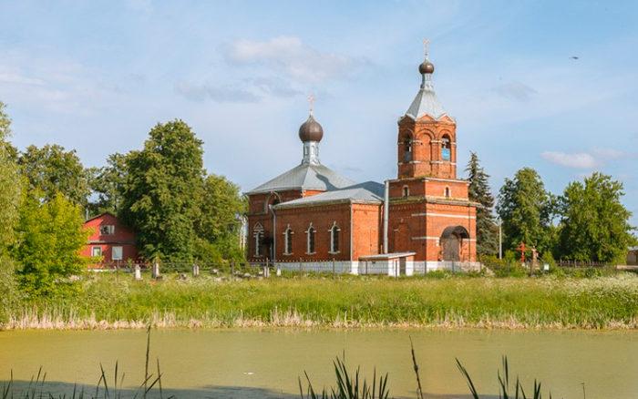 Храм Покрова Пресвятой Богородицы в Еганово