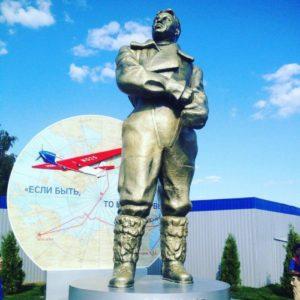 Памятник Герою Советского Союза Валерию Чкалову
