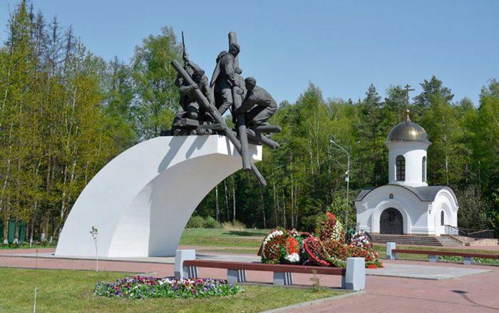 Памятник воинам-дорожникам
