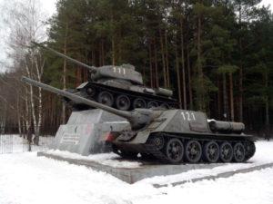 Памятник воинам-танкистам, танкостроителям и испытателям