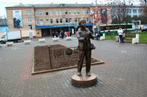 Памятник юному фотографу