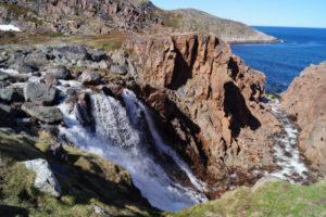 Водопад Малого Батарейского озера