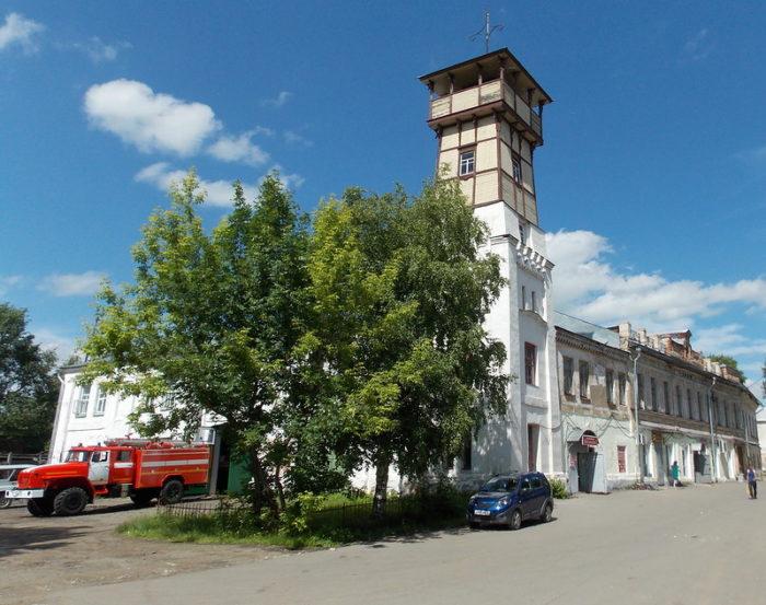 Пожарная каланча Тутаева