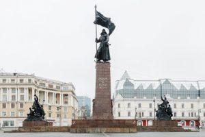 Памятник Борцам за власть Советов на Дальнем Востоке