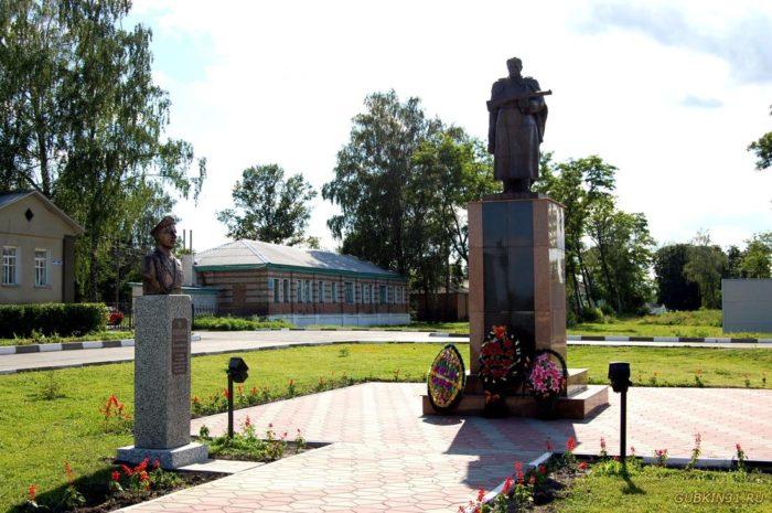 Памятник воинам-освободителям и Аллея героев