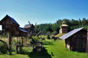 Историко-этнографический парк-музей «Русский остров»