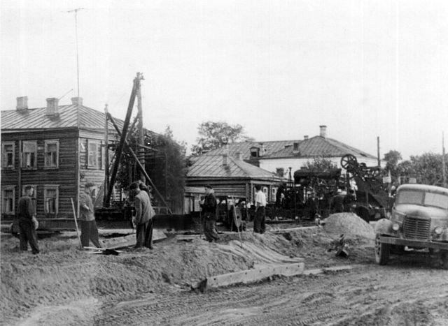 Город Покров в середине ХХ века