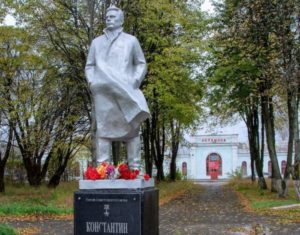 Памятник «дяде Косте» – Константину Заслонову