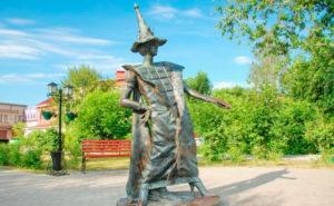 Скульптура «Фея Шоколада»