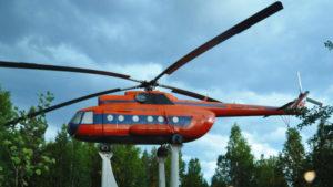 Памятник Вертолет Ми-8