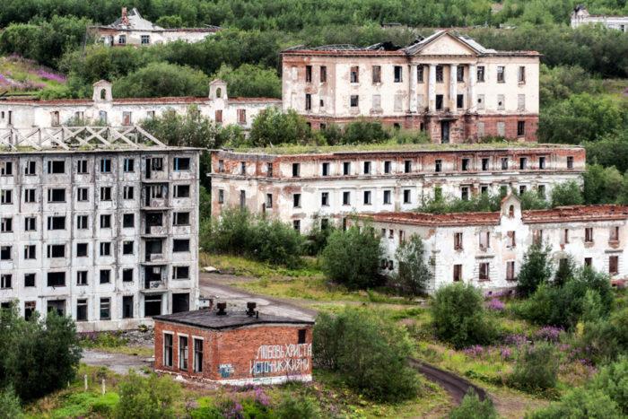 Заброшенный посёлок Рудник