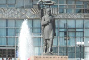 Памятник И.А. Куратову