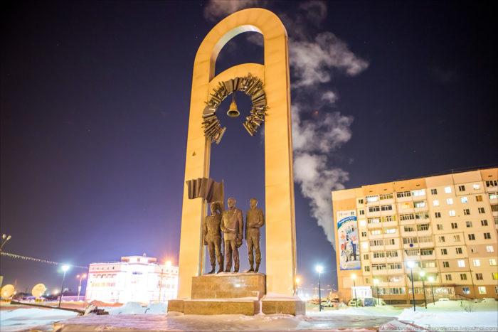 Мемориал, посвященный Защитникам Отечества
