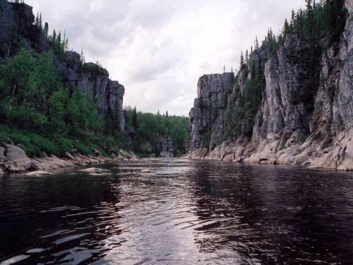 Средние Ворота реки Шаръю
