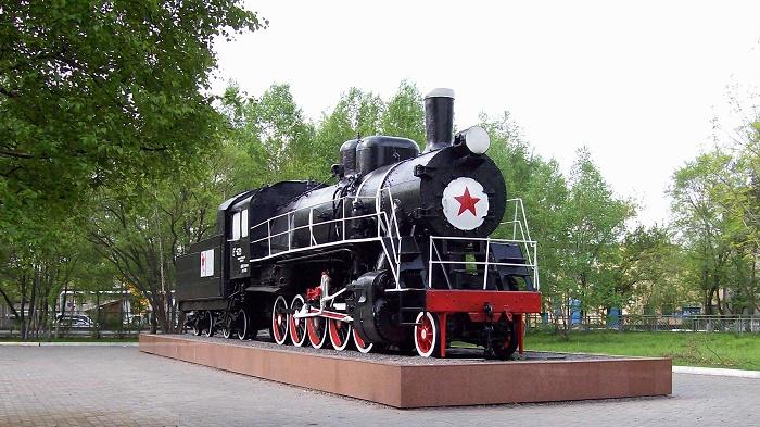 Паровоз Ел-629