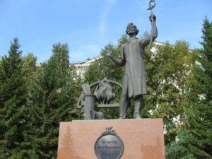 Памятник Ивану Бушуеву
