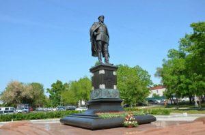 Памятник Якову Дьяченко